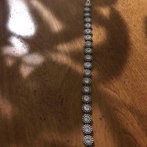 Brighton twinkle link crystal bracelet NWT